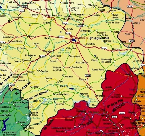 La Mancha Spain Map.Index Of Maps Of Spain Castilla La Mancha