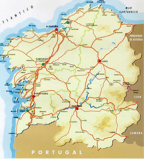 mapa espanha pontevedra Index of /maps of spain/galacia mapa espanha pontevedra